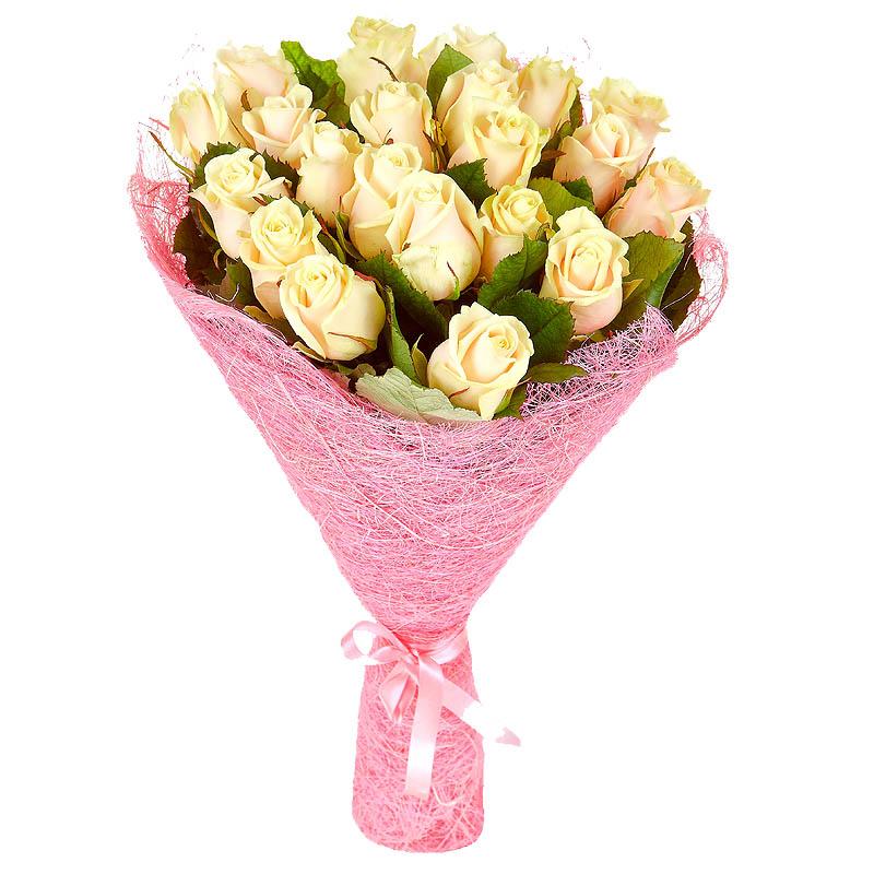 Как сделать букет из роза